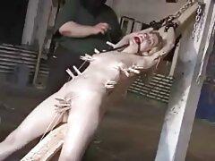 ¡Una mujer gobierna videos pilladas caseros sobre una cuerda!